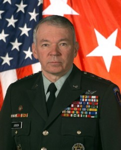 Portrait of General Mike Dodson