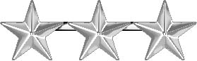 Picture of 3-Star General Insignia